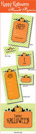 104 best halloween printables images on pinterest holidays