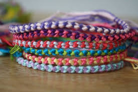 double friendship bracelet images Basic double chain knot friendship bracelet etsy jpg
