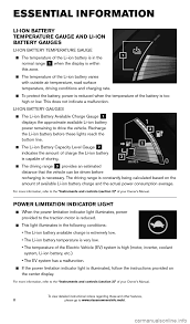 nissan leaf battery capacity nissan leaf 2016 1 g quick reference guide