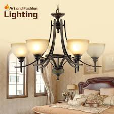 Glass Light Shades For Chandeliers Rustic Brown Wrought Iron Chandelier Vintage Feel Living Room