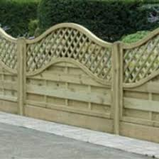 curved fence top trellis home design inspirations