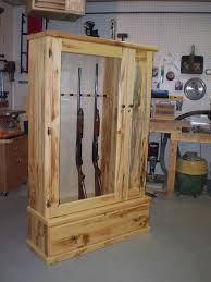 Free Woodworking Project Designs by Gun Cabinet Maybe Someday For When I Get Some Guns Ideas For