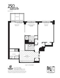 150 east 57th street nyc luxury apartment manhattan 1 bedroom