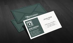 unique postcard inspired business card template free download