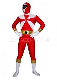 Morph Halloween Costumes Red White Lycra Spandex Morph Zentai Suit Zentaizentai