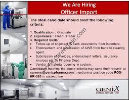 Send Your Resume At Genix Pharma Pvt Ltd Jobs September 2017