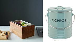 Canisters For Kitchen Counter by 10 Stylish Countertop Compost Bins Treehugger