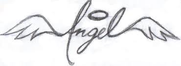 tattoo angel simple angel tattoo by inuanjiri on deviantart