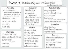 Kitchen Furniture List Kitchen Cleaning Check List Daily Weekly Monthly Checklist