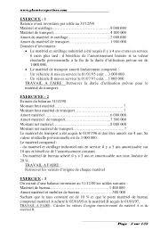 matériel de bureau comptabilité comptabilite generale exercices et corriges