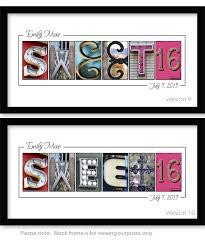 sweet 16 sign in book sweet16 birthday guest book fritts creative