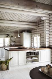 best 20 cabin interiors ideas on pinterest barn homes rustic black stained log cabin in danmark