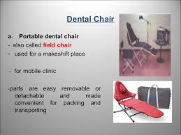 Used Portable Dental Chair Dental Office