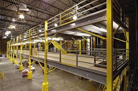 Structural Steel Mezzanine Systems Warehouse Mezzanine Floor