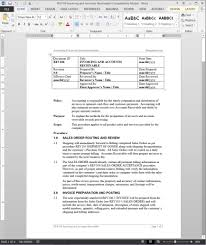 template policies and procedures template