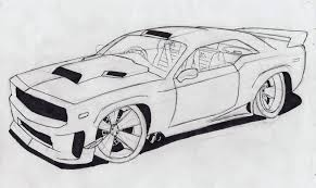ferrari drawing simple car drawings turcolea com
