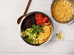 market street dietitian spotlight easy tex mex pasta salad