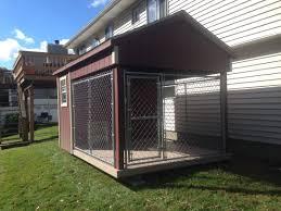 8 u0027x12 u0027 dog kennel delivered to mahopac ny shed man inc
