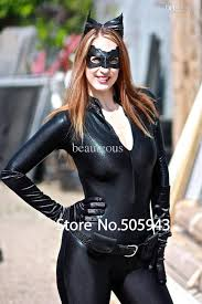 catwoman halloween suit dhl dark knight rises catwoman zentai catsuit costume shiny