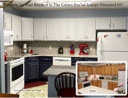paint your kitchen cabinets blue 10 kitchen upgrades for diy ers homestead cabinet design