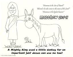 Palm Sunday Crafts For Kids - kids coloring pages