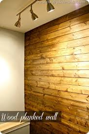 wood plank wall paneling best of diy wood planked wall from