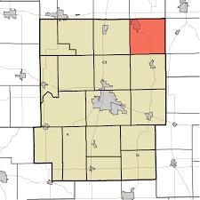 Time Zone Map Indiana by Turkey Creek Township Kosciusko County Indiana Wikipedia