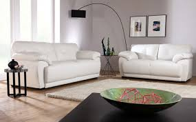 Sienna Black  Seater Leather Sofa Suite Only - Cream leather sofas
