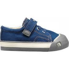 keen kids coronado estate blue brindle a classic canvas sneaker