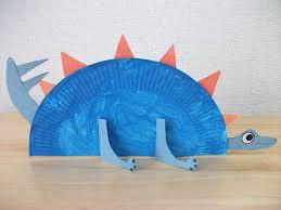 preschool crafts for kids paper plate stegosaurus dinosaur craft