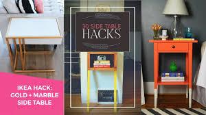 30 ingenious side table hacks youtube