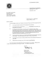 sample of acknowledgement letter for project report sandy s hidden toll thousands of fbi files salon com