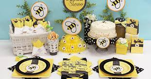 baby shower bee theme bee decorations for baby shower 12147