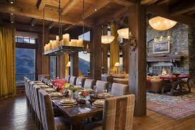 Dining Room Candle Chandelier Eclectic Dining Room With Hardwood Floors By Locati Architects