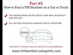 vin number lookup secrets revealed expert vin number check