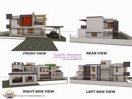 creative idea modern house plan view 11 3d view with plan home act