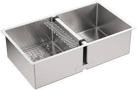 Kohler Stainless Steel Undermount Kitchen Sinks by Kohler K 5281 Na Strive 32 X 18 1 4 X 9 5 16 Inch Under Mount