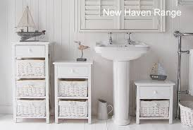 new free standing bathroom cabinet small white in