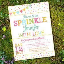 sprinkle baby shower unisex sprinkle baby shower invitation for a girl or boy