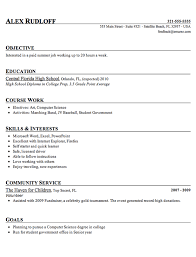 free student resume templates sle high school student resume exle projects to try intended