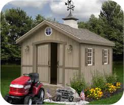 cambridge 10x20 wood backyard storage shed kit