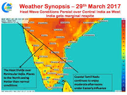 India On A Map by Some Respite For W India On Ugadi Gudi Padwa From Heatwave
