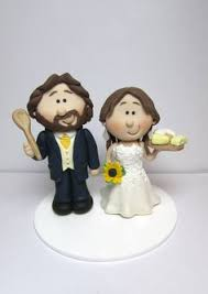 personalised wedding cake toppers customised bride and groom
