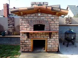 outdoor fireplace pizza oven combo u2014 jen u0026 joes design best