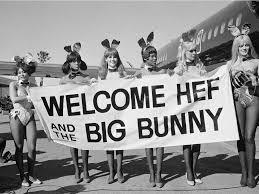 barbi benton and hugh hefner photos inside hugh hefner u0027s big bunny playboy jet business insider