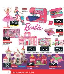 barbie sewing machine and other toys on target catalogue