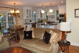 kitchen family room floor plans open floor plan kitchen and family room plans homes 2018 with