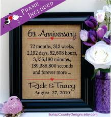 6th anniversary gift ideas for 6th anniversary gift ideas creative gift ideas