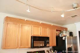Cabinets Crown Molding Update Builder Grade Cabinets Fast Without Painting