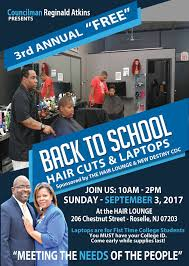 councilman at large atkins to host annual free back to